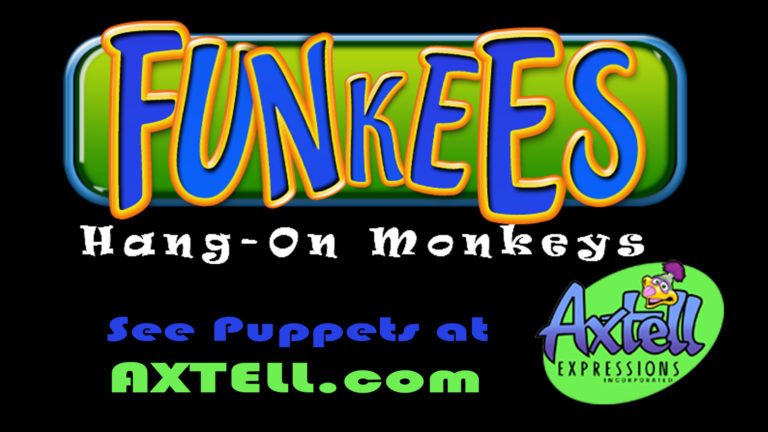 Funkees the Hang-On Monkey Puppets