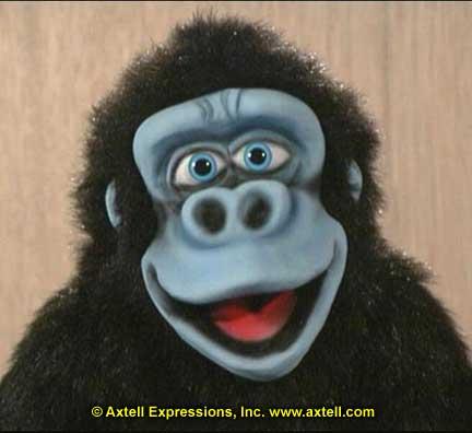 Bongo Gorilla Puppet