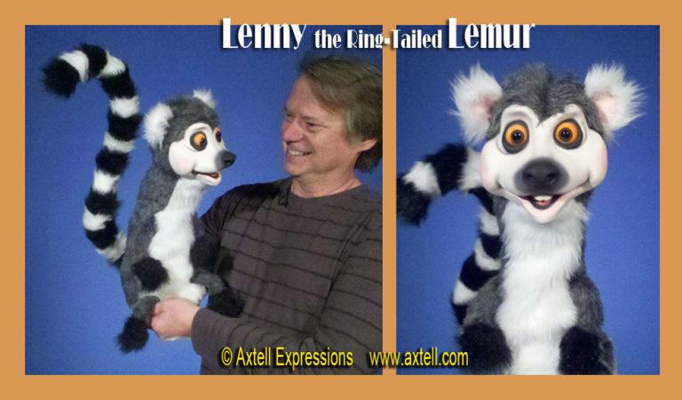 Lemur Puppet