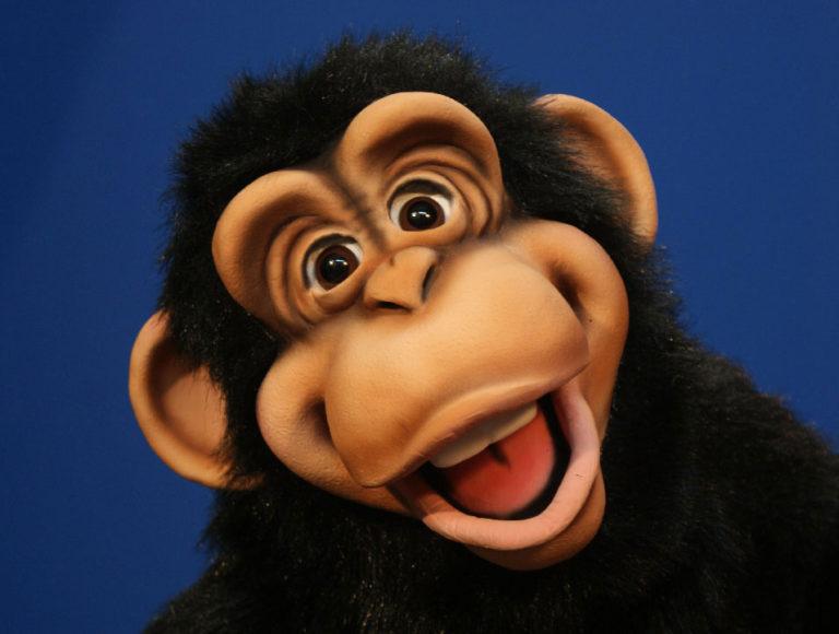 Cheeky Monkey Puppet 2