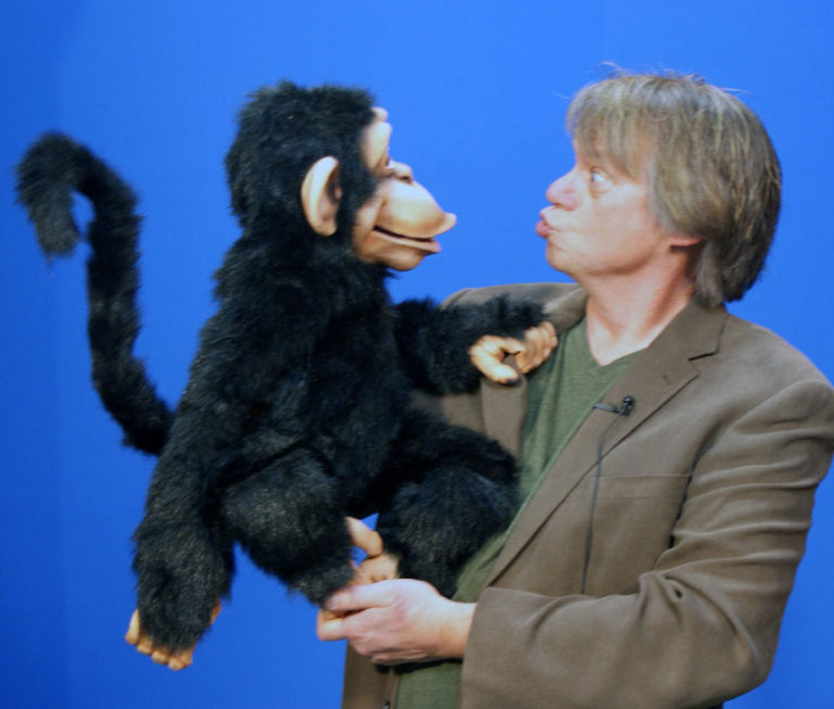 Steve Axtell with Cheeky Monkey 2