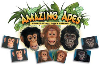 Amazing Apes Ape Puppets