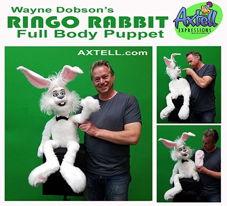 Ringo Rabbit Puppet Full Body