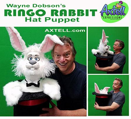 Ringo Rabbit Hat Puppet