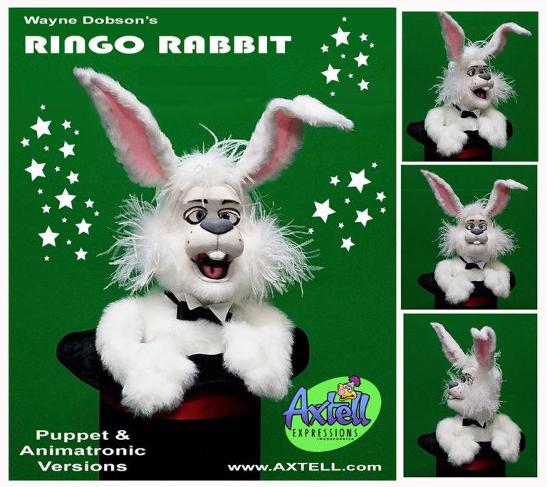 Ringo Rabbit Puppet