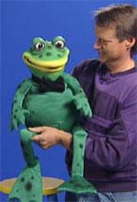 Webster the Frog Puppet