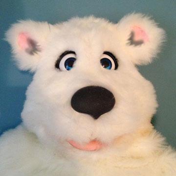 Little Polar Bear Puppet