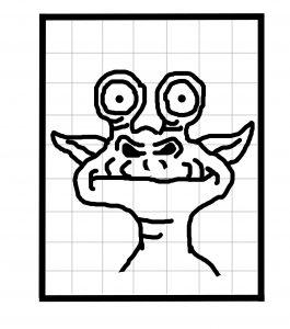 Alien Magic Drawing Board