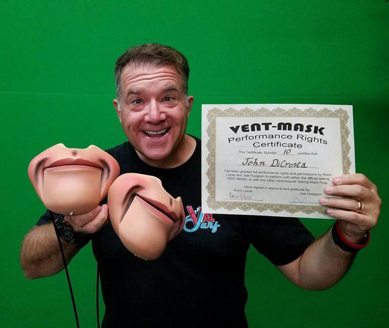 John DiCrosta with his Vent Masks