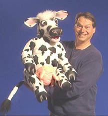 Cow Puppet with Steve Axtell