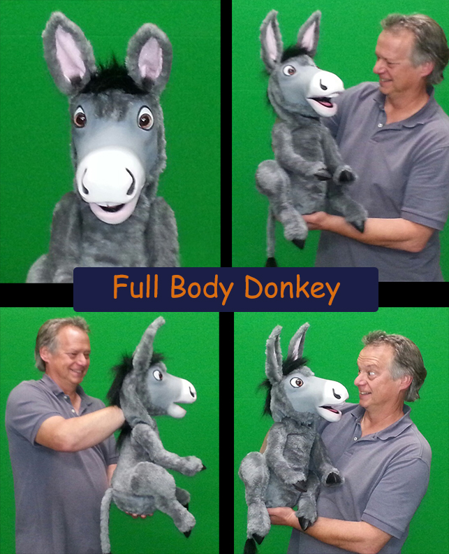 Donkey Puppet by Axtell Expressions