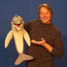 Dolphin Puppet by Axtell Expressions