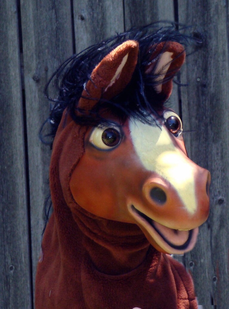 Horse Puppet by Axtell Expressions