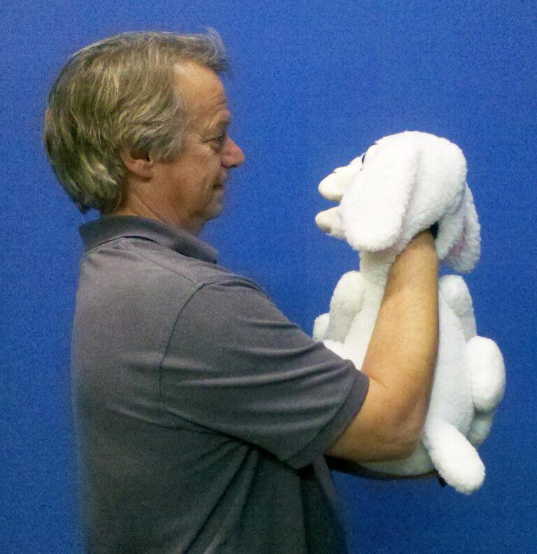 Lamb Puppet Back