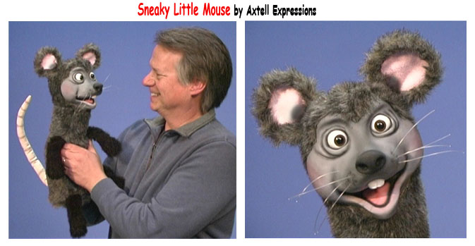 Mouse Puppet by Axtell Expressions