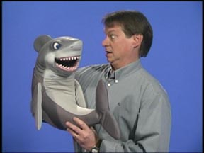 Shark Puppet by Axtell Expressions