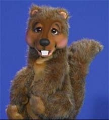 Squirrel Puppet by Axtell Expressions