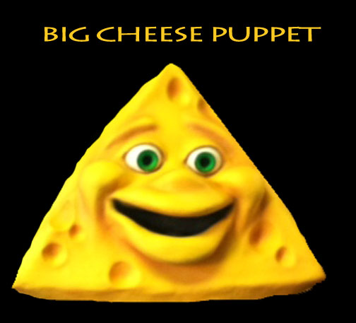 The Big Cheese Puppet by Axtell Expressions
