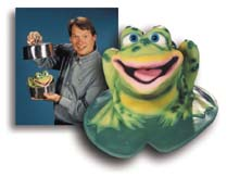 Bubba Bullfrog Puppet by Axtell Expressions
