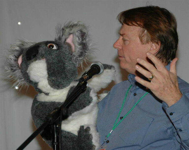 Jay Johnson Koala Puppet
