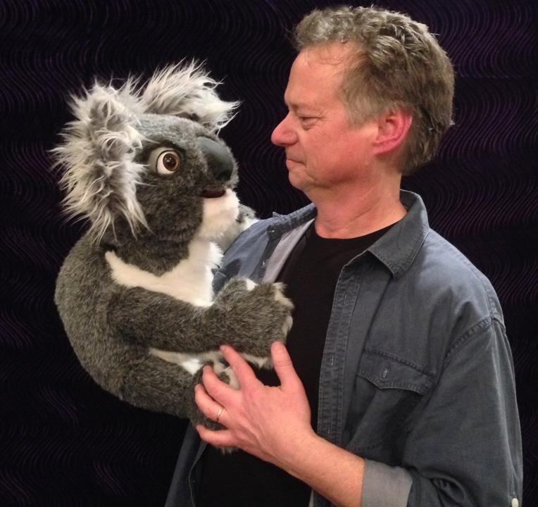 Steve Axtell Koala Puppet