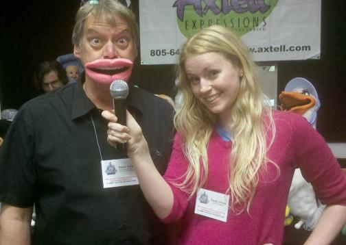 Sarah Jones with the Mic Mouth by Axtell Expressions