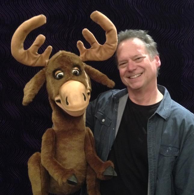 Steve Axtell Moose Puppet