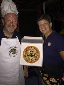 Ventriloquist Margaret Davis & Jim the Magical Pizza Chef