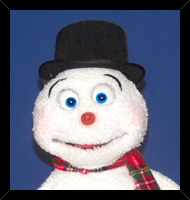 Christmas Snowman Puppet by Axtell Expressions