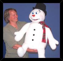 Snowman Puppet 2