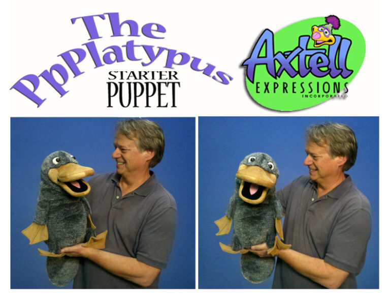 Starter Platypus Puppet by Axtell Expressions