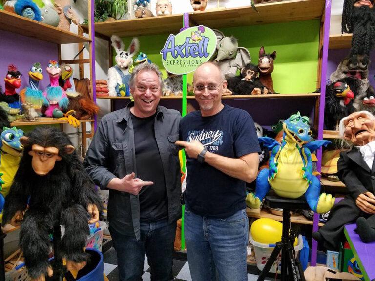 Steve Axtell and David Strassman