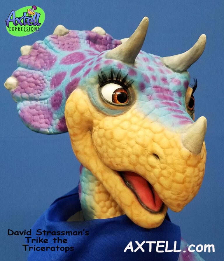 Trike the Triceratops Puppet