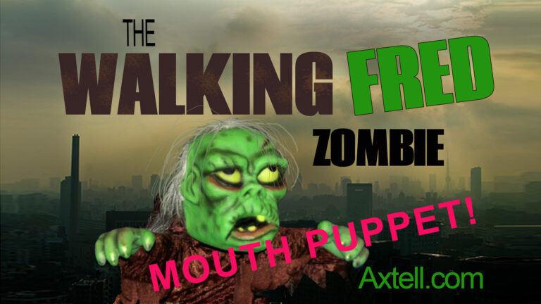 Walking Fred Zombie Puppet by Axtell Expressions
