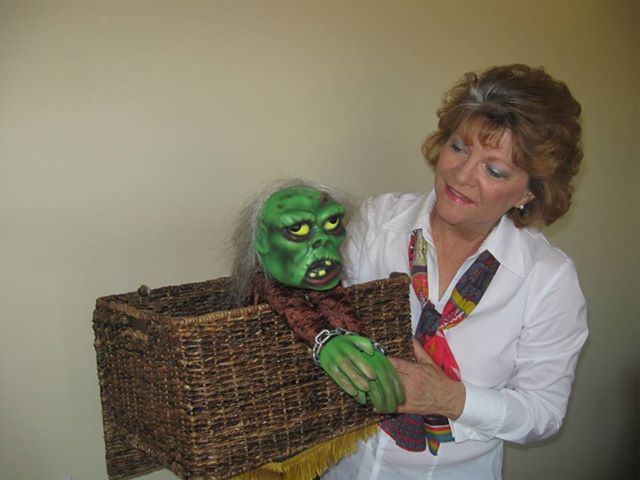 Tammy Hamanda with Zombie