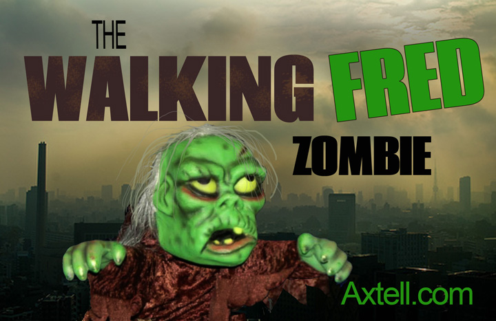 The Walking Fred Zombie by Axtell Expressions