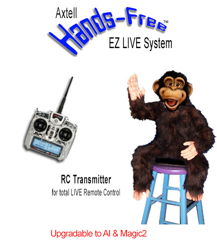 Hands-Free Cheeky Monkey EZ LIVE
