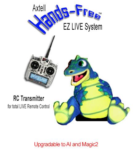 Hands-Free Dinosaur EZ LIVE System