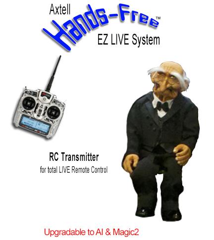 Hands-Free Oldes Man EZ LIVE System