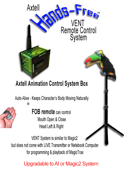 Hands-Free Toucan VENT SYSTEM