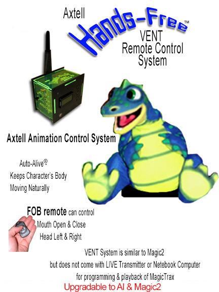 Hands-Free Dinosaur VENT System