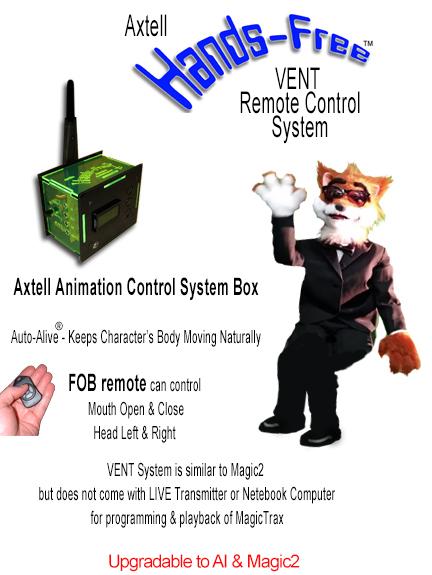 Animatronic Hands-Free Fox VENT System
