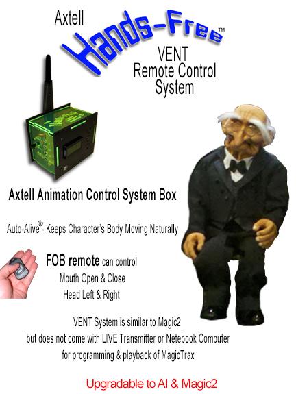 Hands-Free Oldest Man VENT System
