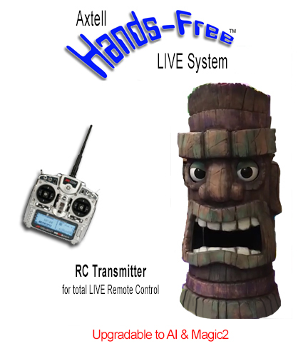 Hands-Free EZ LIVE Tiki by Axtell Expressions