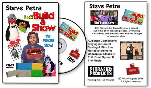 Video - Build a Show Steve Petra DVD