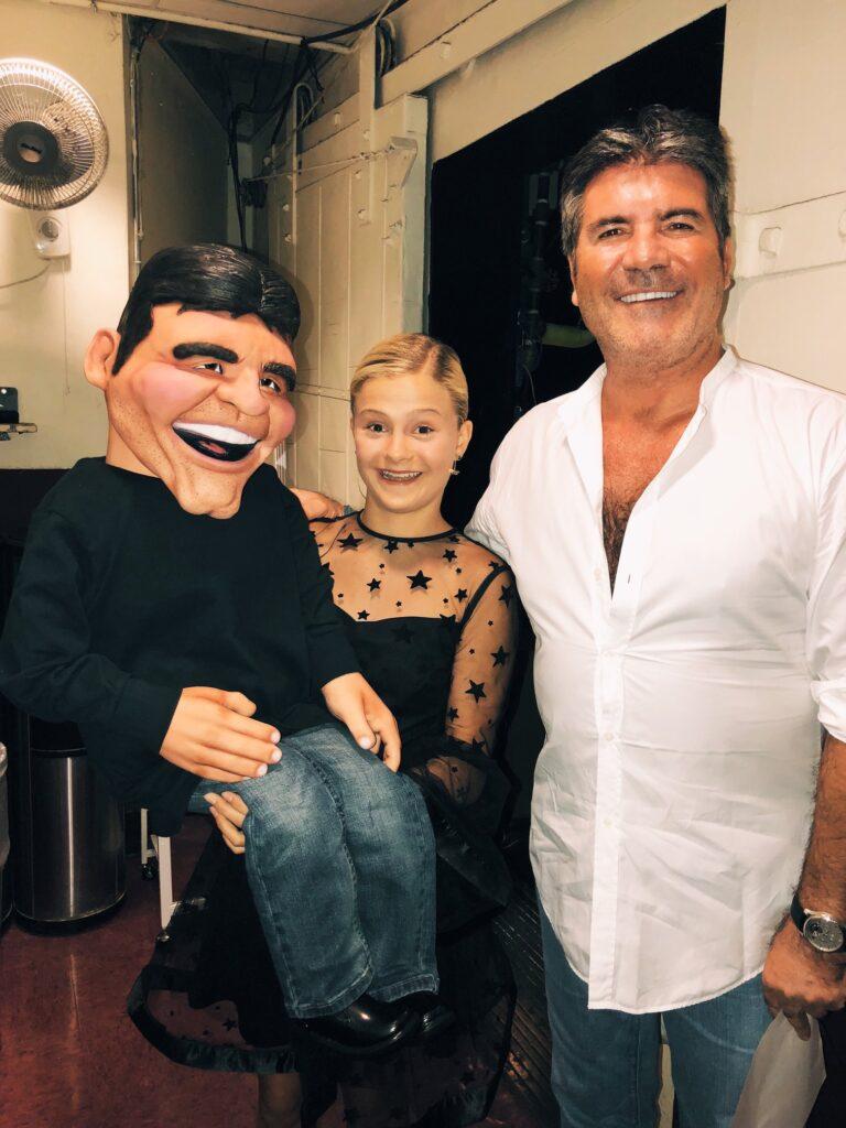 Learn Ventriloquism - Ventriloquist Darci Lynne and Simon Cowell
