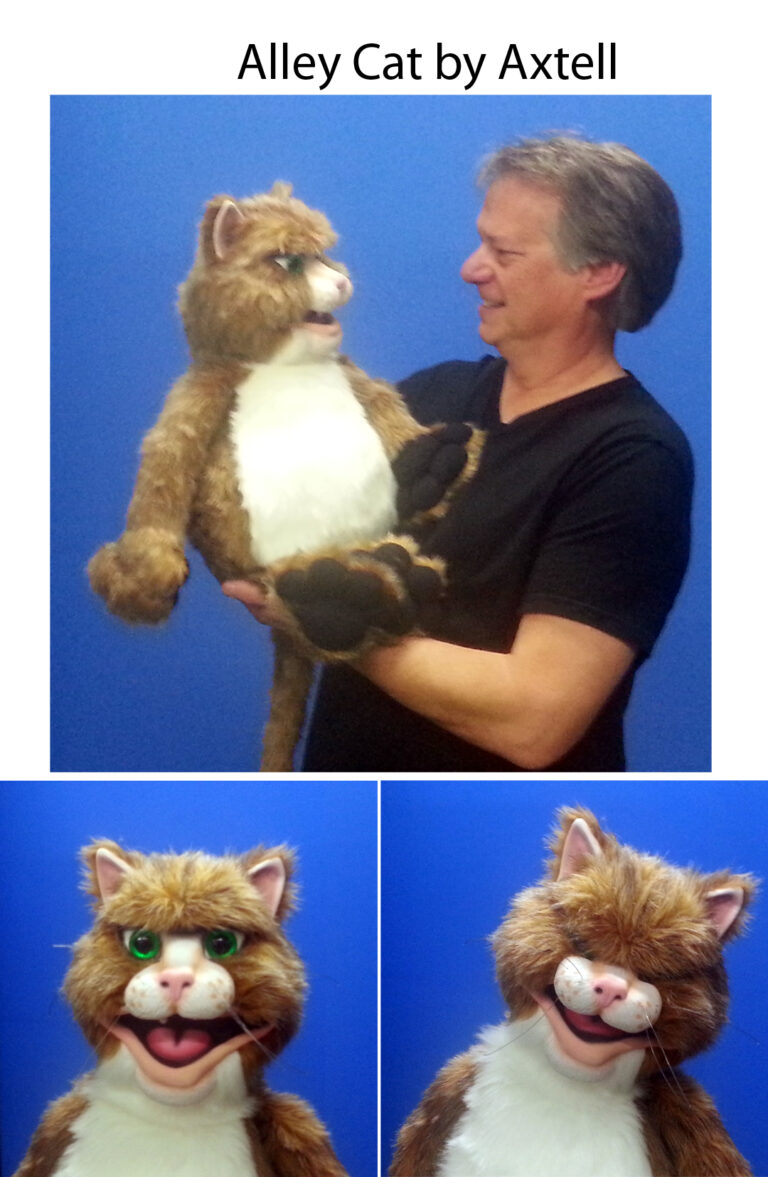 Alley Cat Puppet