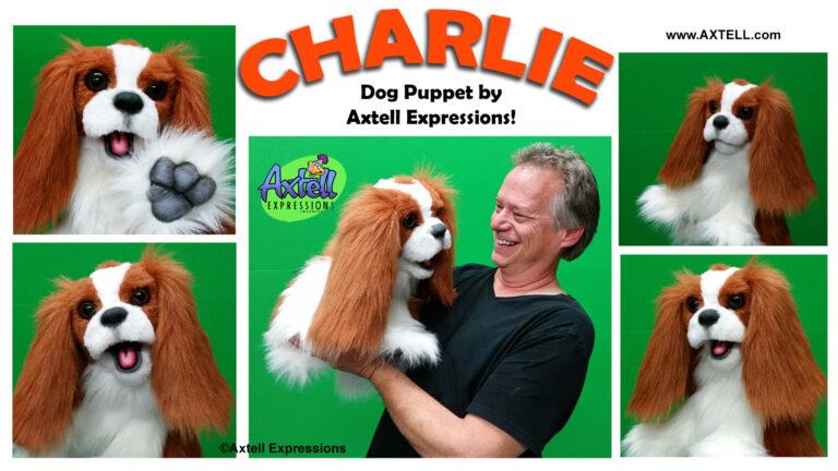 Charlie Dog Puppet