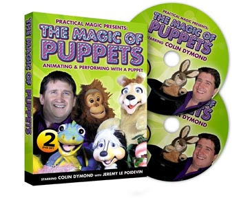 The Magic of Puppets by Colin Dymond