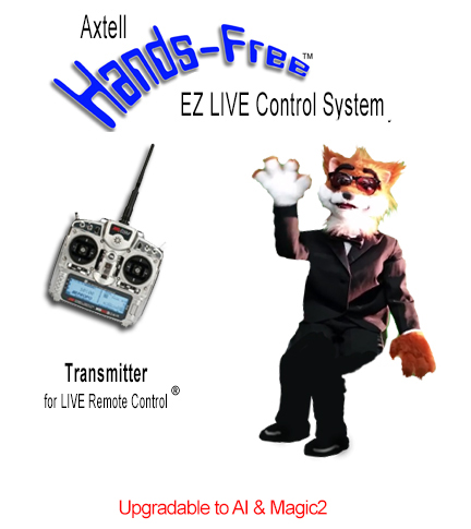 Animatronic Hands-Free Fox EZ LIVE System